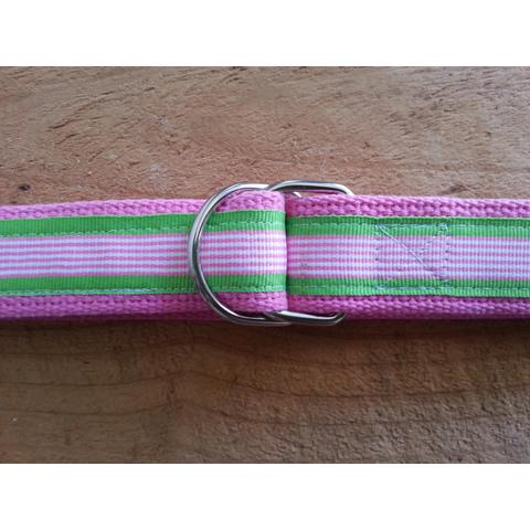 PinkFinePinkGreenStripe-Small 2 Medium 2 Large 2 XL 1
